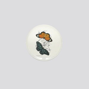 Butterfly Insects Mini Button