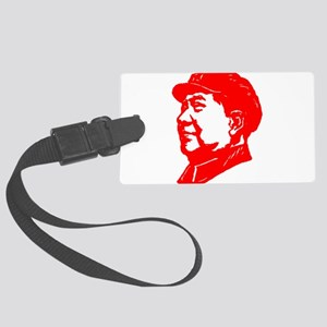 Mao Zedong red Large Luggage Tag