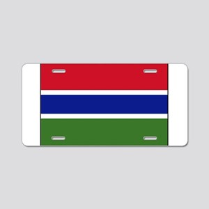 Gambia - National Flag - Current Aluminum License