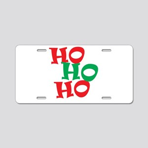 Ho Ho Ho - Santa Laugh - Merry Christmas Aluminum