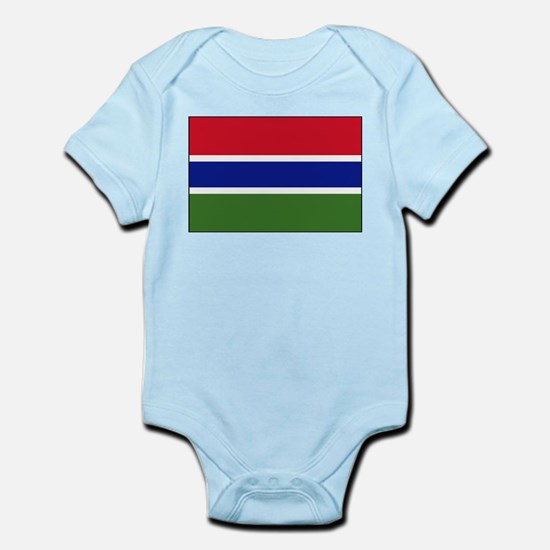 Gambia - National Flag - Current Infant Bodysuit