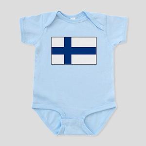 Finland - National Flag - Current Infant Bodysuit