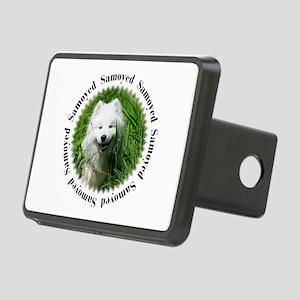 Word Samoyed W/Pic Rectangular Hitch Cover
