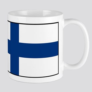 Finland - National Flag - Current 11 oz Ceramic Mu