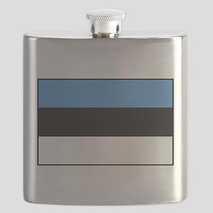 Estonia - National Flag - Current Flask