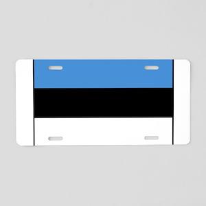Estonia - National Flag - Current Aluminum License