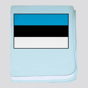 Estonia - National Flag - Current baby blanket