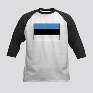 Estonia - National Flag - Current Kids Baseball Te