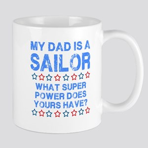 My Dad Is A Sailor (Blue) Mug