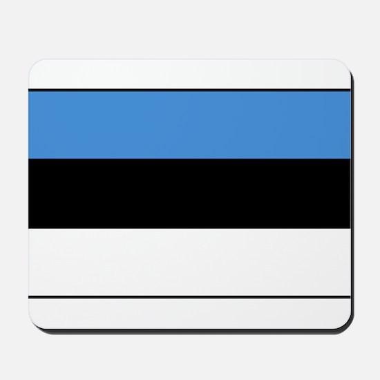 Estonia - National Flag - Current Mousepad