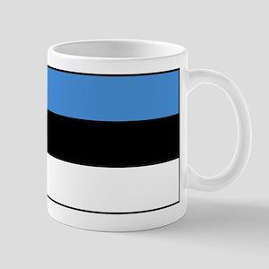 Estonia - National Flag - Current 11 oz Ceramic Mu