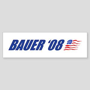 Bauer '08 Bumper Sticker