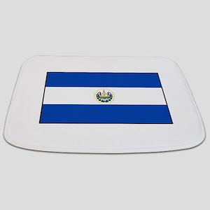 El Salvador - National Flag - Current Bathmat