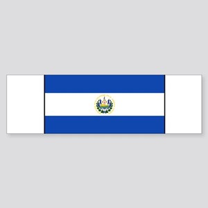 El Salvador - National Flag - Current Sticker (Bum