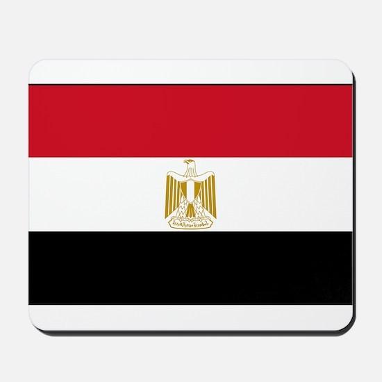 Egypt - National Flag - Current Mousepad