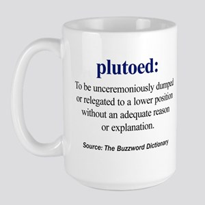 plutoed Large Mug