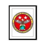NY DMNA emblem Framed Panel Print