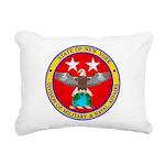 NY DMNA emblem Rectangular Canvas Pillow