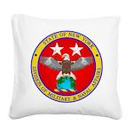 NY DMNA emblem Square Canvas Pillow