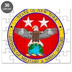 NY DMNA emblem Puzzle