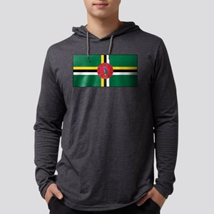 Dominica - National Flag - Current Mens Hooded Shi