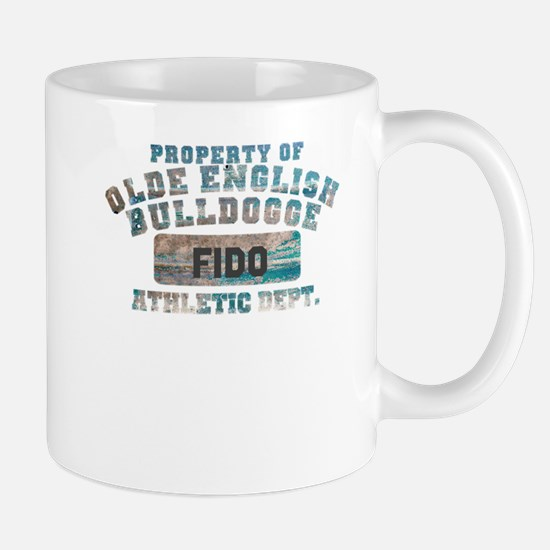 Personalized Olde English Bulldogge Mug