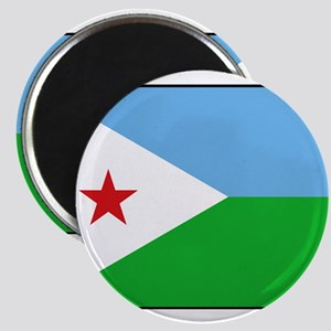 Djibouti - National Flag - Current Magnet