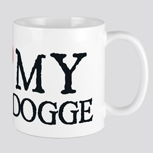 I Heart My Bulldogge Mug