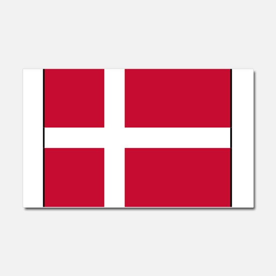 Denmark - National Flag - Current Car Magnet 20 x