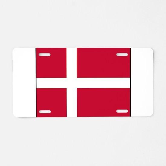 Denmark - National Flag - Current Aluminum License