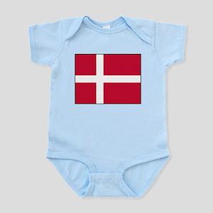 Denmark - National Flag - Current Infant Bodysuit