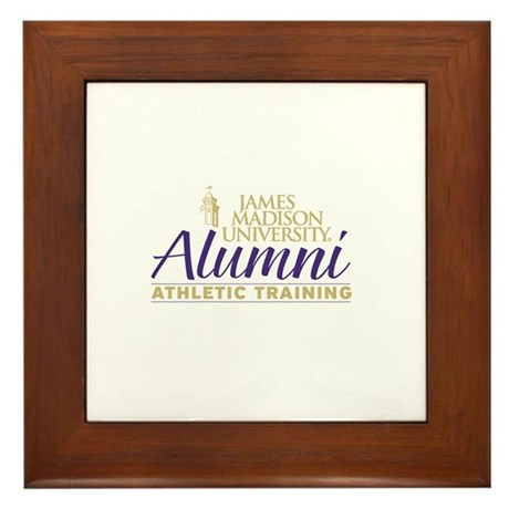 JMU Athletic Training Alumni (Purple/Gold) Framed