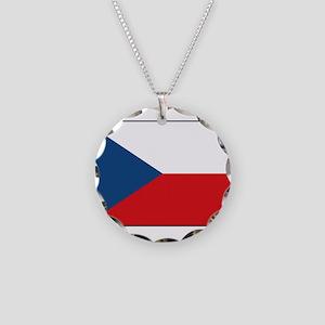 Czech Republic - National Flag - Current Necklace