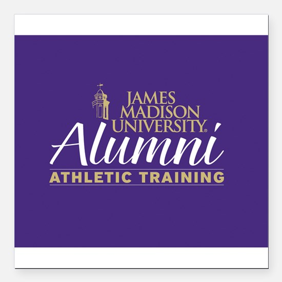 JMU Athletic Training Alumni (Purple background) S