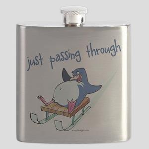Fun Winter Penguin Flask