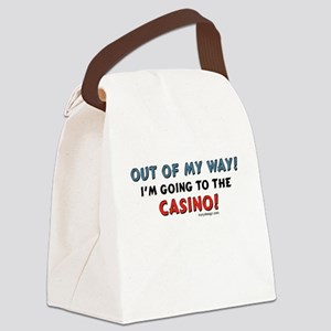 Casino Lovers Canvas Lunch Bag