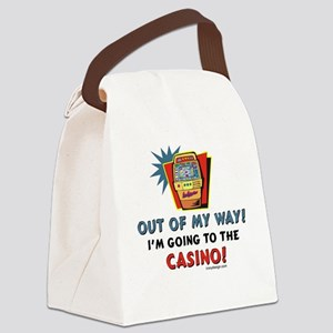 Casino Humor Canvas Lunch Bag