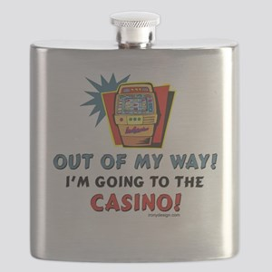 Casino Humor Flask