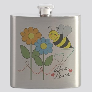 Bee Love Flask