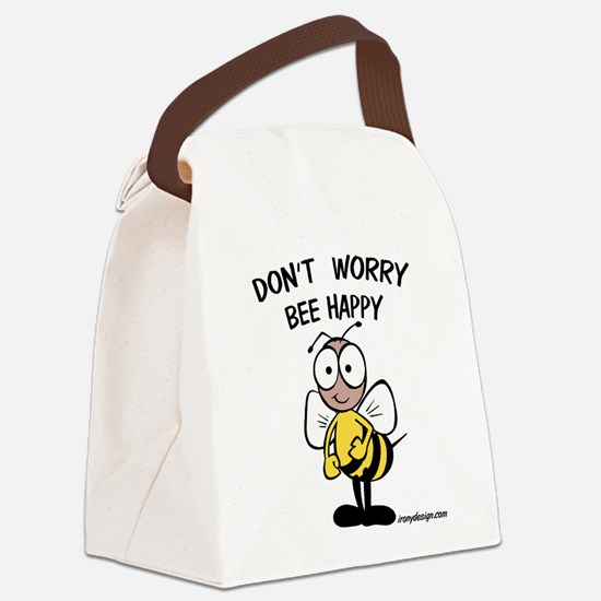 DON'T WORRY Canvas Lunch Bag