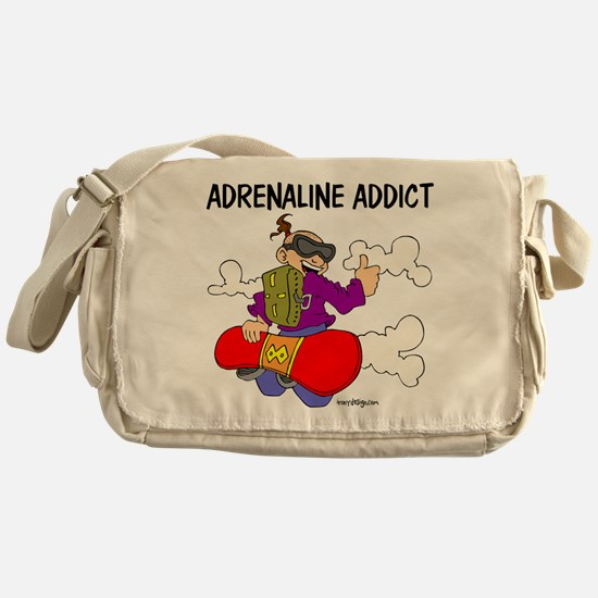 Adrenaline Addict Messenger Bag