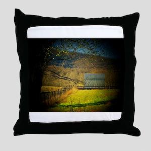 Shenandoah Barn Throw Pillow
