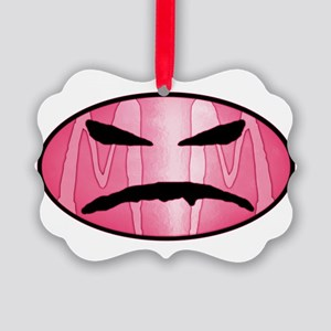 mm mad face pink logo solo Picture Ornament