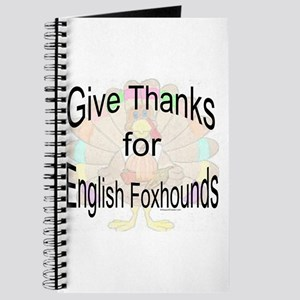 Thanks for English Foxhound Journal