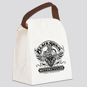 Black Swan Motorcycles Canvas Lunch Bag