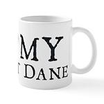 I Heart My Great Dane Mug