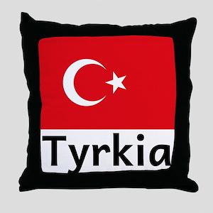 Tyrkia Throw Pillow