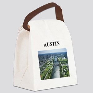 austin texas gifts Canvas Lunch Bag