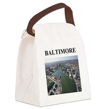 baltimore gifts Canvas Lunch Bag