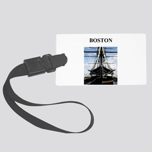BOSTON massachusetts Large Luggage Tag